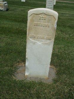 U. S. Soldier 238 Unknown
