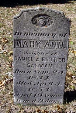 Mary Ann Seaman