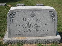 Lealie Samantha <I>Hulen</I> Reeve