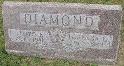 "Lorenda Ethel ""Ethel"" <I>Burlile</I> Diamond"