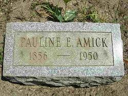 Pauline Ernestine <I>Jungnitsch</I> Amick