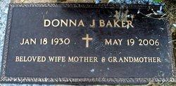 Donna J Baker