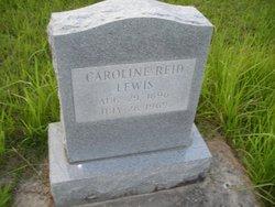 Caroline <I>Reid</I> Lewis