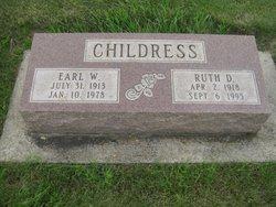 Ruth Deleane <I>Stiffler</I> Childress