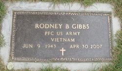 PFC Rodney B Gibbs
