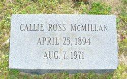 Callie Ross McMillan