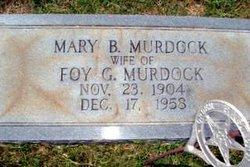 Mary <I>Bradburn</I> Murdock