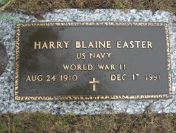 Harry Blaine Easter
