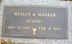 Wesley A Walker