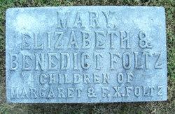 Mary  Elizabeth And Benedict Foltz