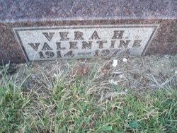 Vera H. Valentine