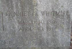 Henrietta <I>Whitmire</I> Faulkner