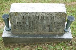 "Christian ""Chris"" Weidner"