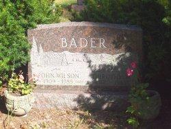 John Wilson Bader