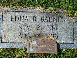 Edna Irene <I>Bunch</I> Barnes