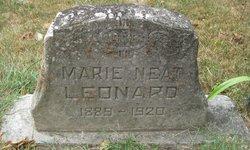 "Belle Marie ""Marie"" <I>Neat</I> Leonard"