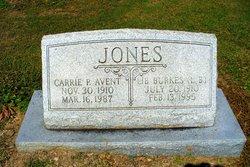 "Lib Burkes ""LB"" Jones"