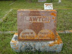 Fannie Eliza <I>Freeman</I> Lawton