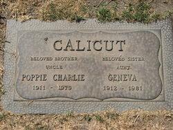 "Charlie ""Poppie"" Calicut"