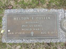 Pvt Melton E. Foster