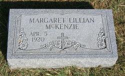 Margaret Lillian McKenzie