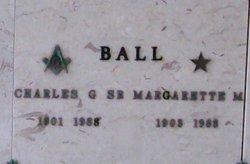 Margarette <I>Menzies</I> Ball