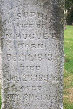 Margaret Sophia <I>Cunig</I> Huguet