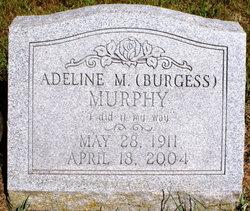 Adeline M <I>Burgess</I> Murphy