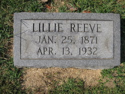 Lillie Reeve