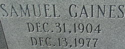 Samuel Gaines Dailey