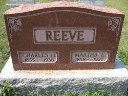 Martha Ellen <I>McLin</I> Reeve