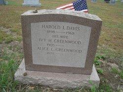 Harold I Davis