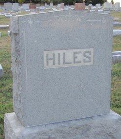 Mary E Hiles