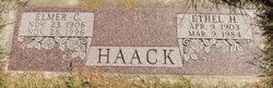 Ethel Hulda <I>Ohlendorf</I> Haack
