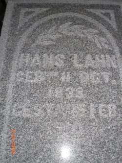 Hans Lahn, Sr