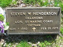 LCpl Steven W. Henderson