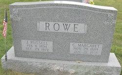 Charlotte Margaret Rowe