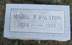 Mabel P <I>Hiles</I> Ralston
