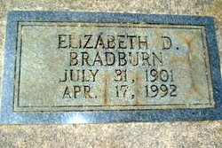 Elizabeth D. Bradburn