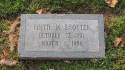 Edith M Shotter