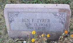 Benjamin F Tyrer
