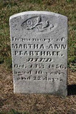 Martha Ann Pearthree