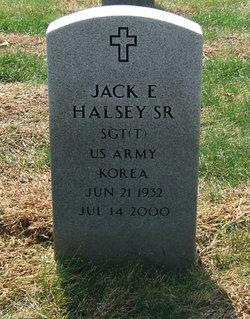 Jack E Halsey, Sr