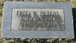 Fred W Peters