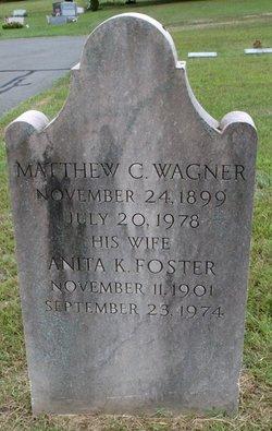 Anita K <I>Foster</I> Wagner