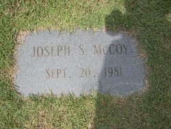 Joseph S McCoy