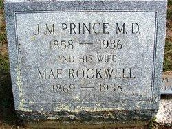 Mae Elizabeth <I>Rockwell</I> Prince