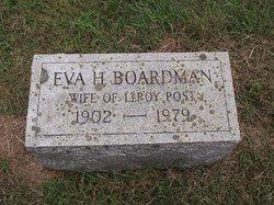 Eva H <I>Boardman</I> Post