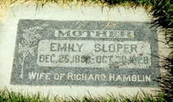 Emily Maria Hillier <I>Sloper</I> Hamblin