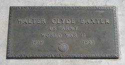 Walter Clyde Baxter